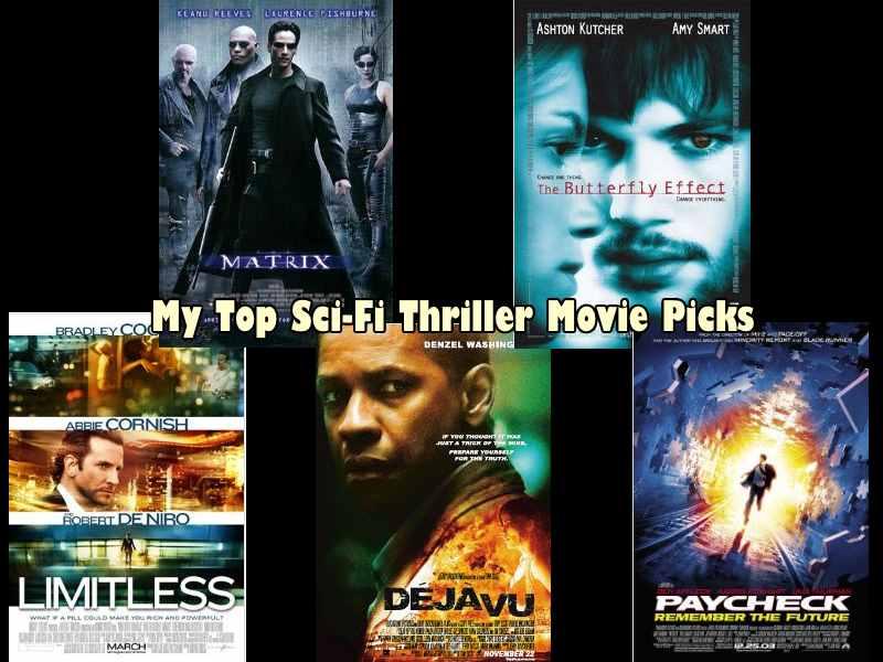 My Five Top Sci-Fi Thriller Movie Picks