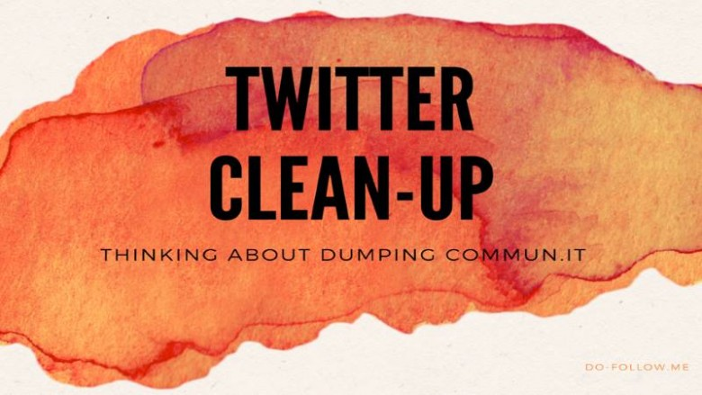 Twitter Clean-Up