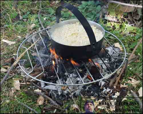 Outside Camp Fire Soup