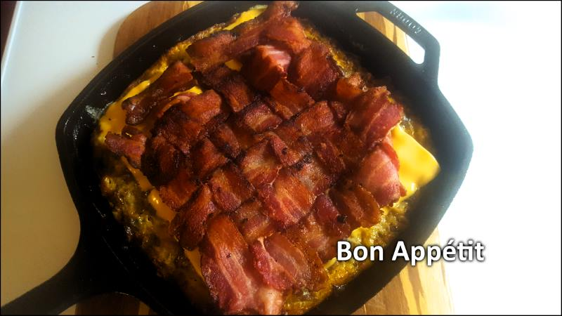 My Cast Iron, Low Carb Breakfast Bake Masterpiece – Take Two