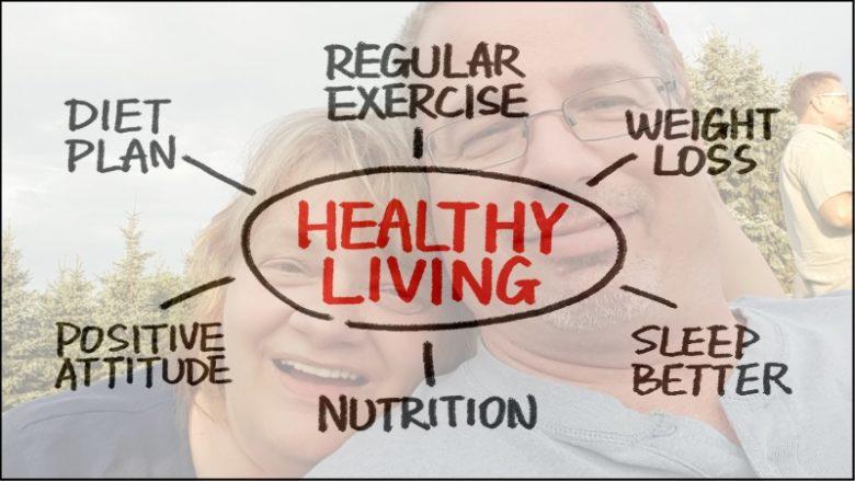 Brian and Kim Hawkins - healthy living
