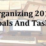Organizing 2019 Goals And Tasks