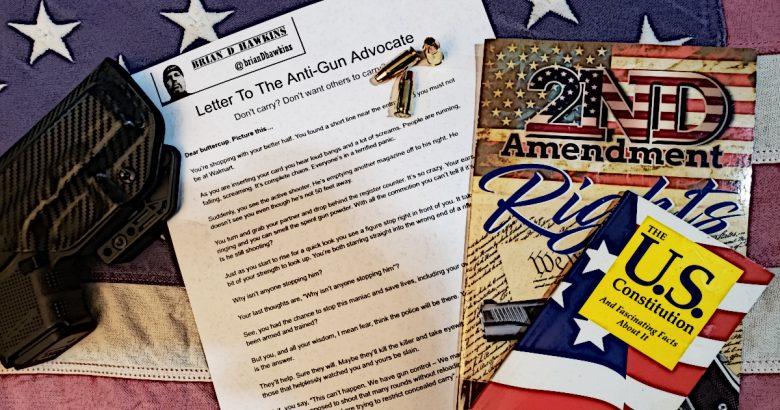Letter To Gun Control Advocates