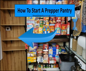 Start A Prepper Pantry
