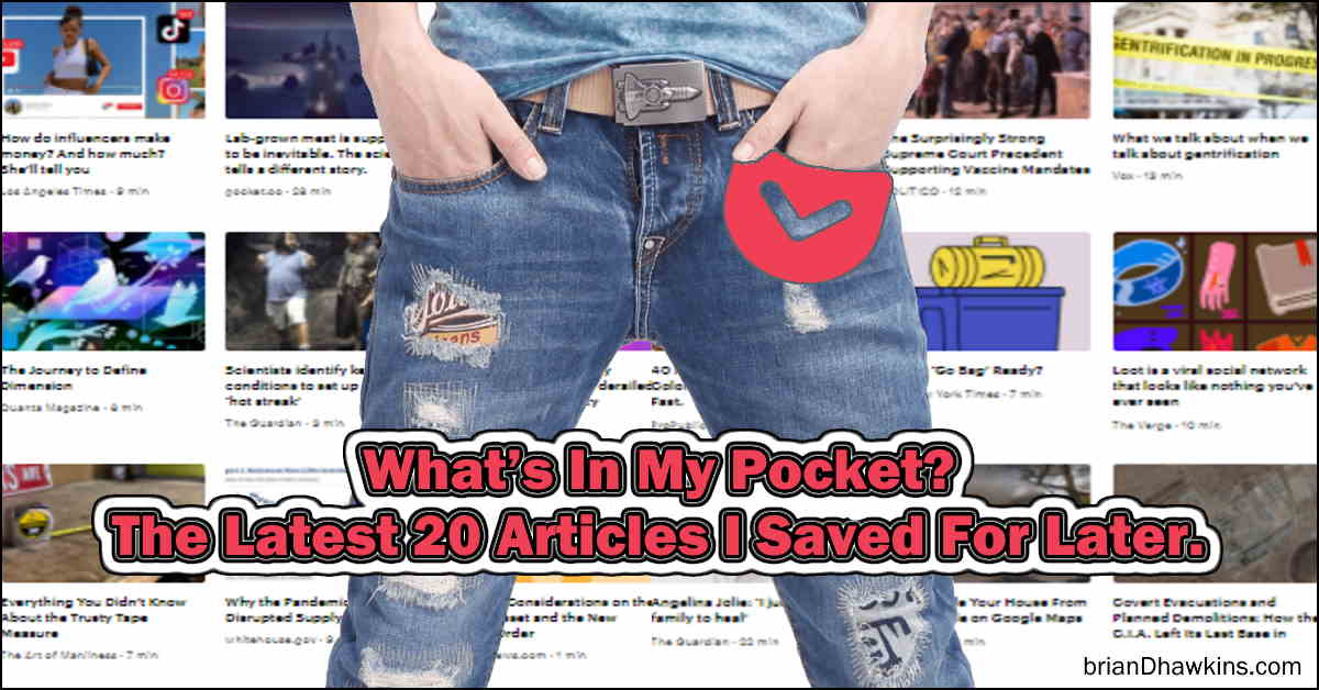 Featured Image - What's In My Pocket?