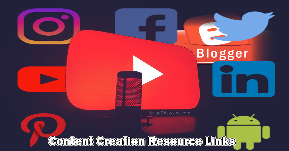 Featured Image - Content Creation Resource Links