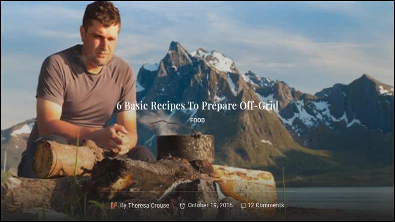 Link Image - Six Off-Grid Recipes
